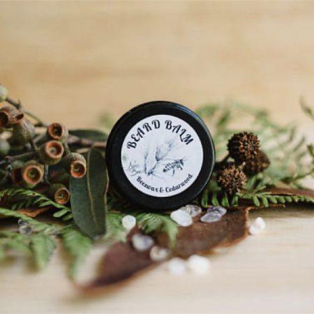 All Natural Beard Balm with Beeswax and Cedarwood