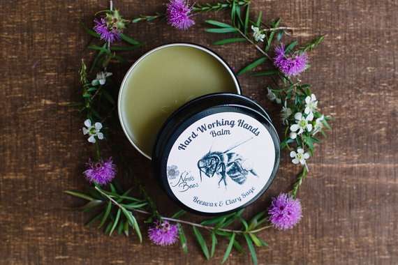 All natural Hand balm for hard working hands.