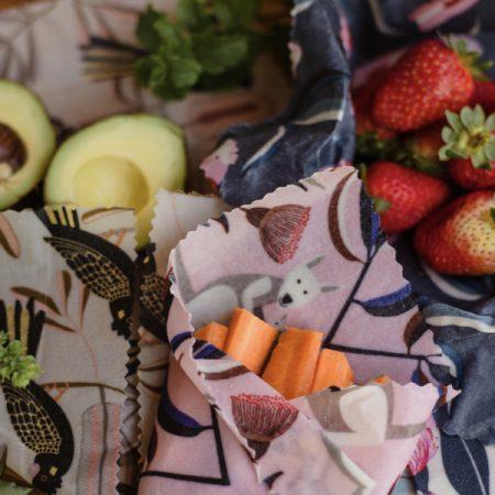 Beeswax Food Wrap Single size