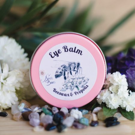 Eye Balm with Beeswax, Propolis and Rosehip