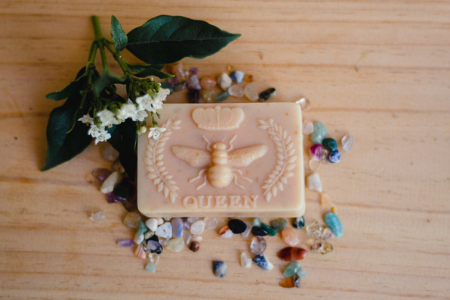 Honey & Oats handmade soap with organic ingredients
