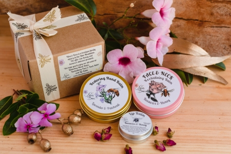 gift pack with bee products