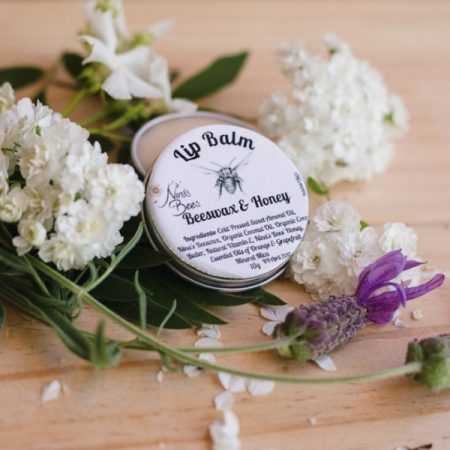 Natural Lip Balm with Beeswax & Honey