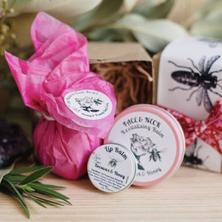 Relaxation Gift Pack with One Balm (of your choice), Bath Bomb and Lip Balm