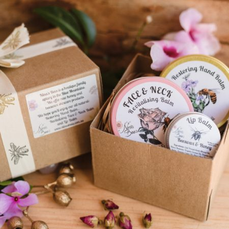 Skincare Gift Pack with Any Two Balms (of your choice) and Lip Balm
