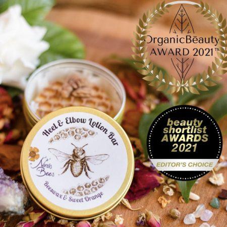 All Natural Beeswax Heel & Elbow Lotion Bar