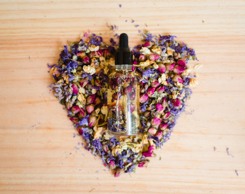 """Face and Body Floral Oil """"Bees' Paradise"""""""
