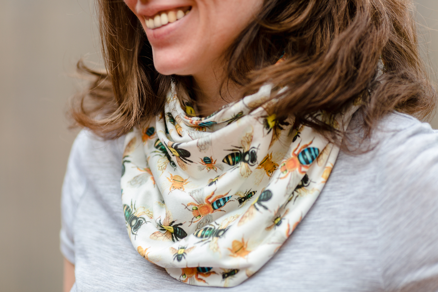 Australian native bees scarf