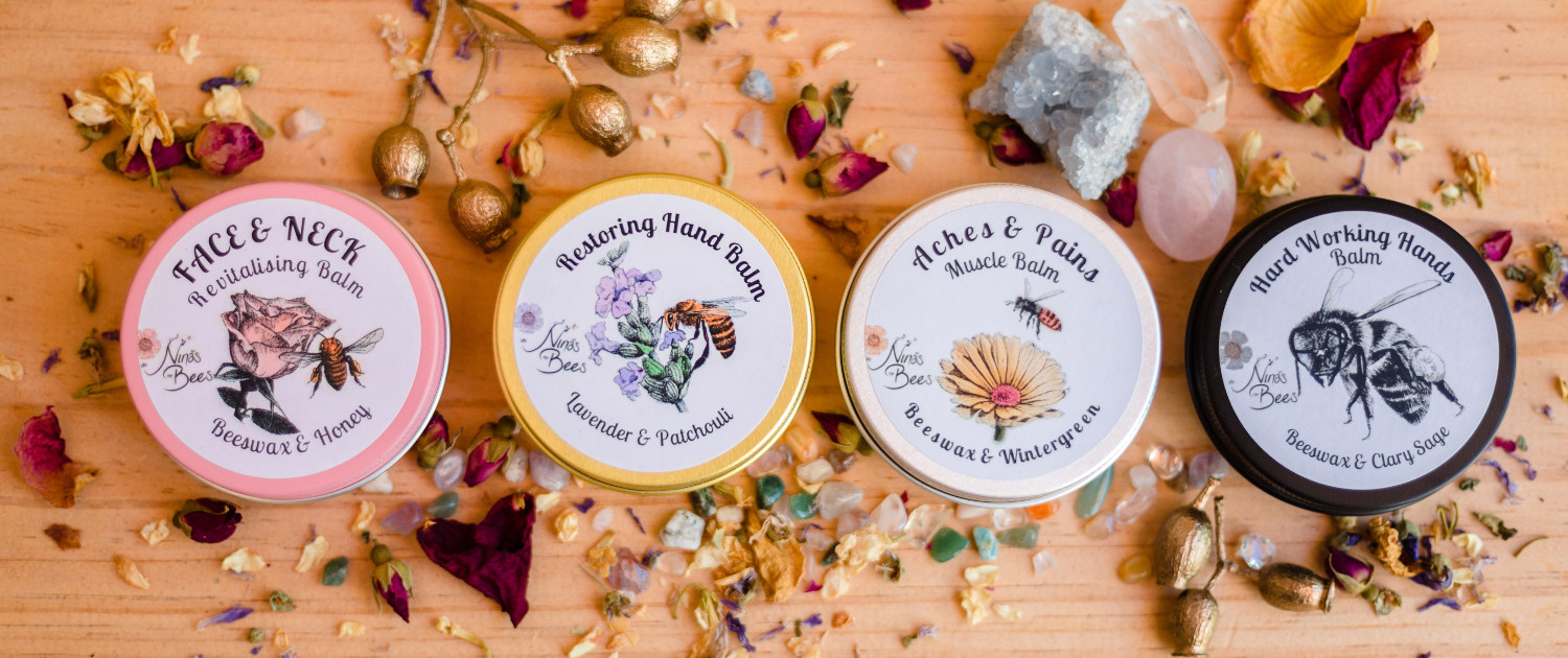 Nina's Bees - all natural, artisan skincare and unique gifts
