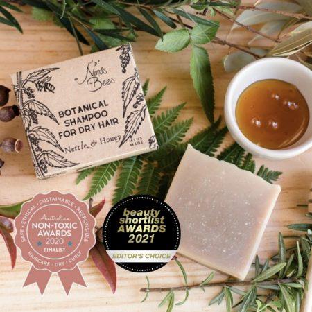 Botanical Shampoo Bar with Nettle and Honey