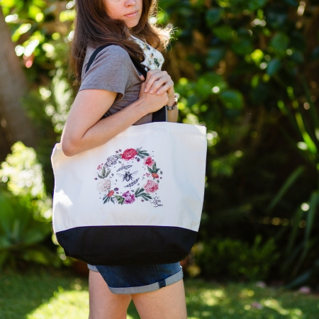 Environmentally friendly cotton canvas bag
